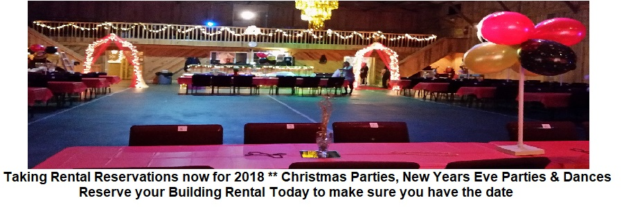 Christmas Party Rentals