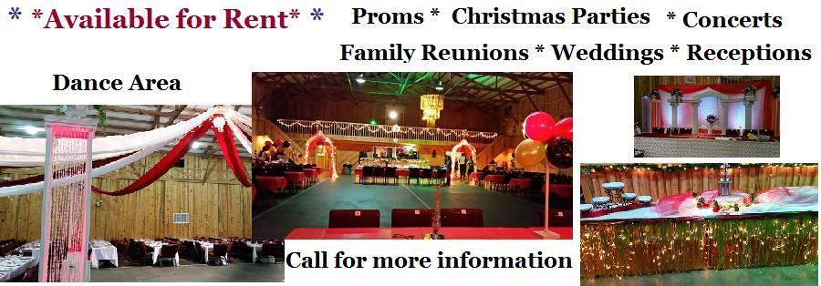 Building Rentals @ Tar Heel Variety Theater | Chocowinity | North Carolina | United States